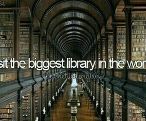 book, library, and bucket list image