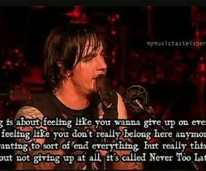 quote and adam gontier image