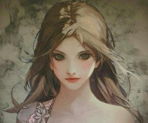 girl and anime image