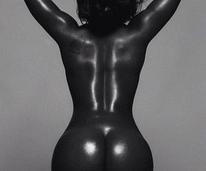 beautiful, black woman, and melanin image