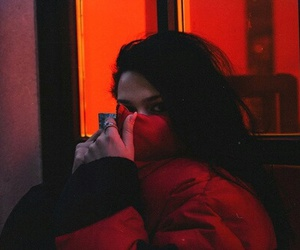 red and grunge image