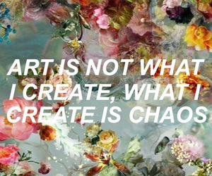 art, chaos, and colors image