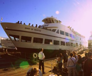 ocean, seattle, and cruise image