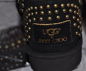Jimmy Choo, boots, and ugg image