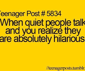 quote, funny, and teenager post image