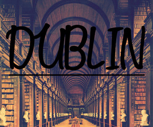 dublin, book, and travel image