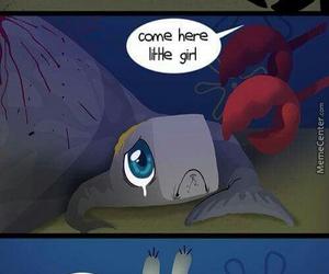 spongebob, sad, and pearl image