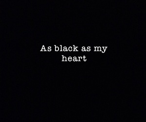black, quote, and sadness image