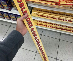 toblerone, chocolate, and food image