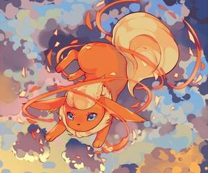 pokemon, flareon, and kawaii image