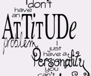attitude, quotes, and personality image