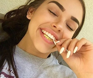 girl, nails, and maggie lindemann image
