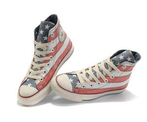 america, shoes, and converse image