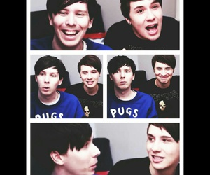 youtube, danisnotonfire, and amazingphil image