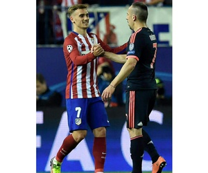 fcb, ribery, and griezmann image