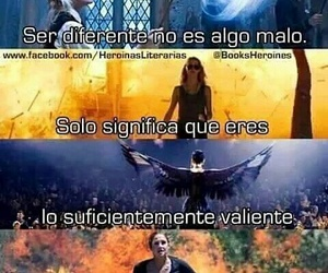 books, harry potter, and ser diferente image
