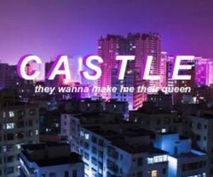 castle, Queen, and halsey image
