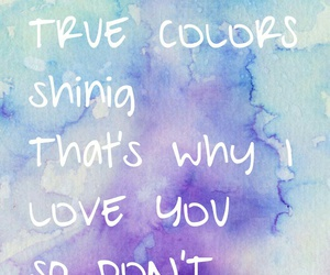 art, blue, and Lyrics image
