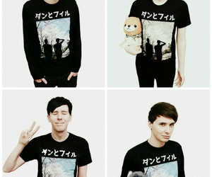 amazingphil, danisnotonfire, and danandphil image