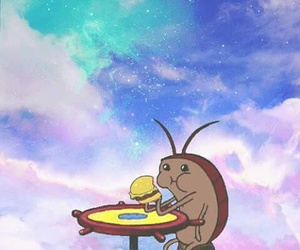 wallpaper and cockroach image