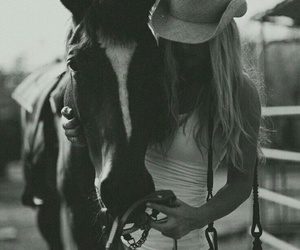 horse, country, and Cowgirl image