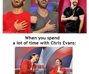 actor, chris evans, and sebastian stan image