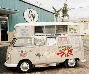 aesthetic, vintage, and van image