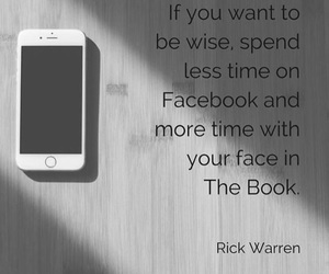 bible and facebook image