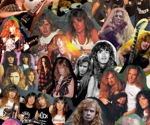 band, Collage, and dave mustaine image