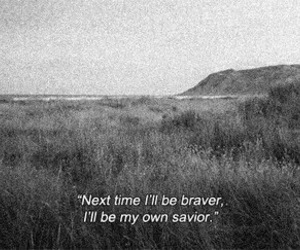quote, brave, and savior image