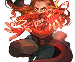 scarlet witch and Marvel image