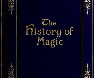 magic and book image