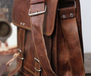 leather bag and aesthetic image