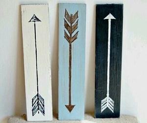 arrow, diy, and black image