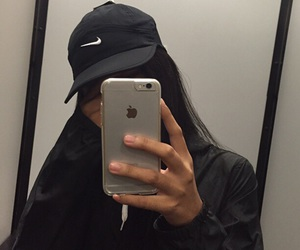 cap, nike, and picture image