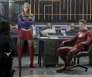 flash, Supergirl, and the flash image