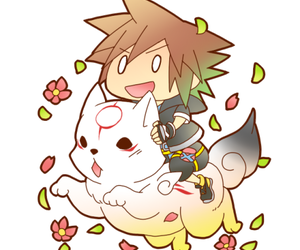 kingdom hearts, chibi, and kawaii image