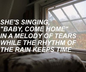 fall out boy, rain, and music image