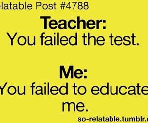 school, teacher, and funny image