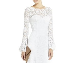 bcbg evening dress, 2016 bcbg dress, and bcbg lace white dress image