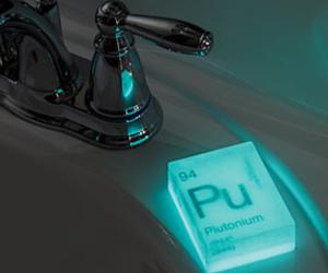 aesthetic, glow, and bathroom image