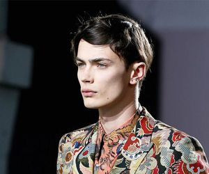 dries van noten, fashion, and man image