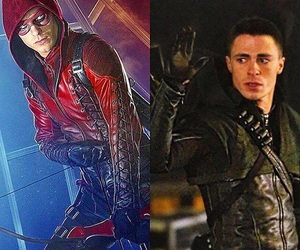 arrow, royharper, and colton image