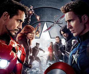civil war and Marvel image