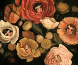 girls, roses, and emily winfield martin image