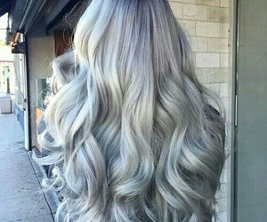 cool, hair, and grey image
