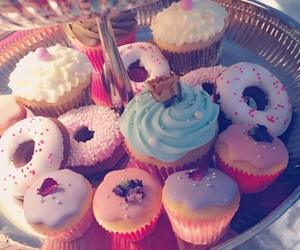 cupcake, colorful, and kawaii image