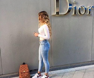 girl, fashion, and dior image