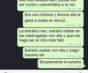 chats, frases, and men image
