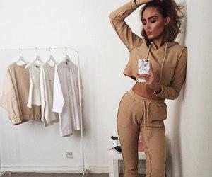 baggy, girl, and fashion image